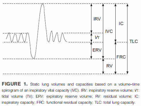 From ATS-ERS Standardisation of lung volume measurements, page 512