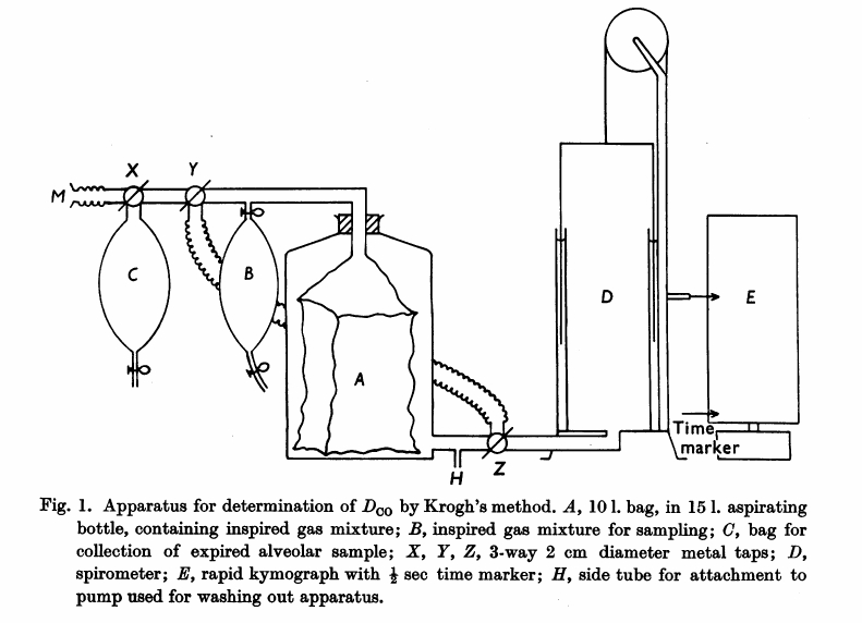 Single_Breath_DLCO_J_Physiol_v132_n01_p0232_1956