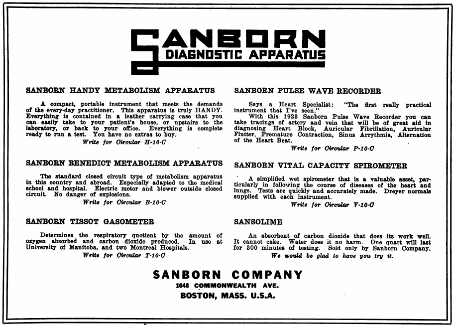 Sanborn_Company_Advertisement_1924_Can_Med_J