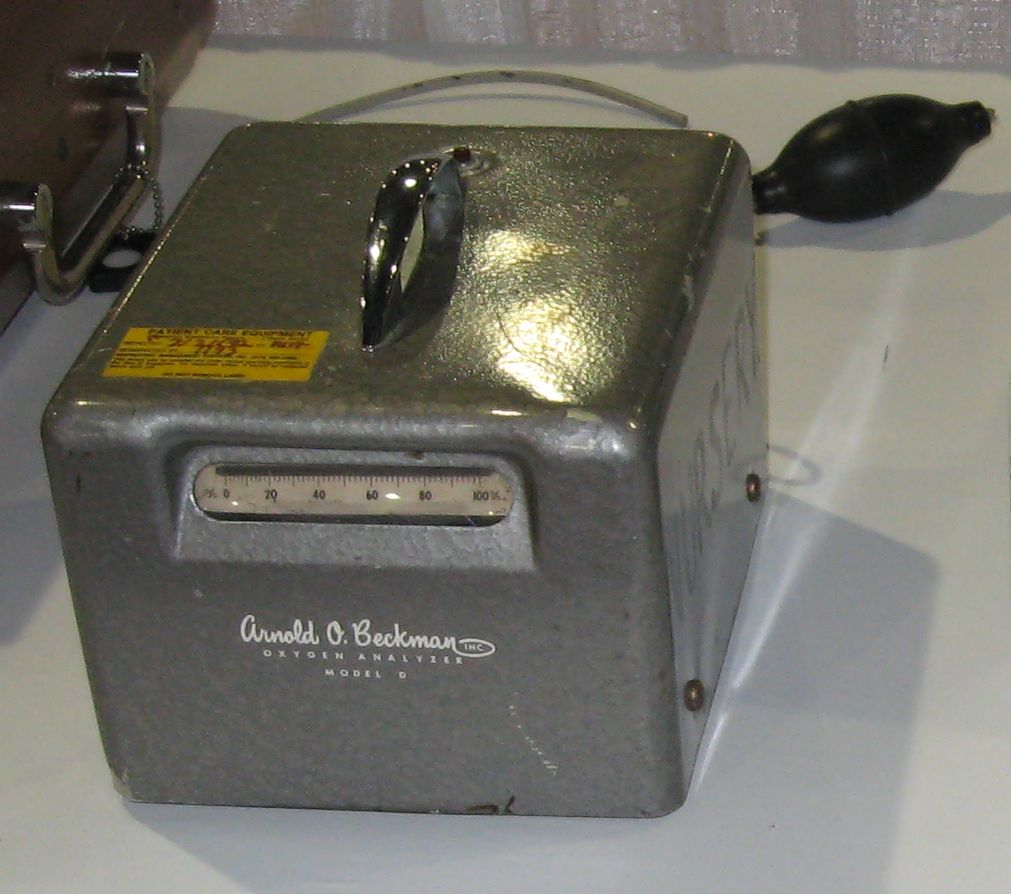 Beckman_Oxygen_Analyzer_Model_D_1970s