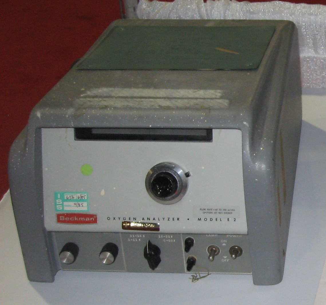 Beckman_Oxygen_Analyzer_Model_E2_1960s