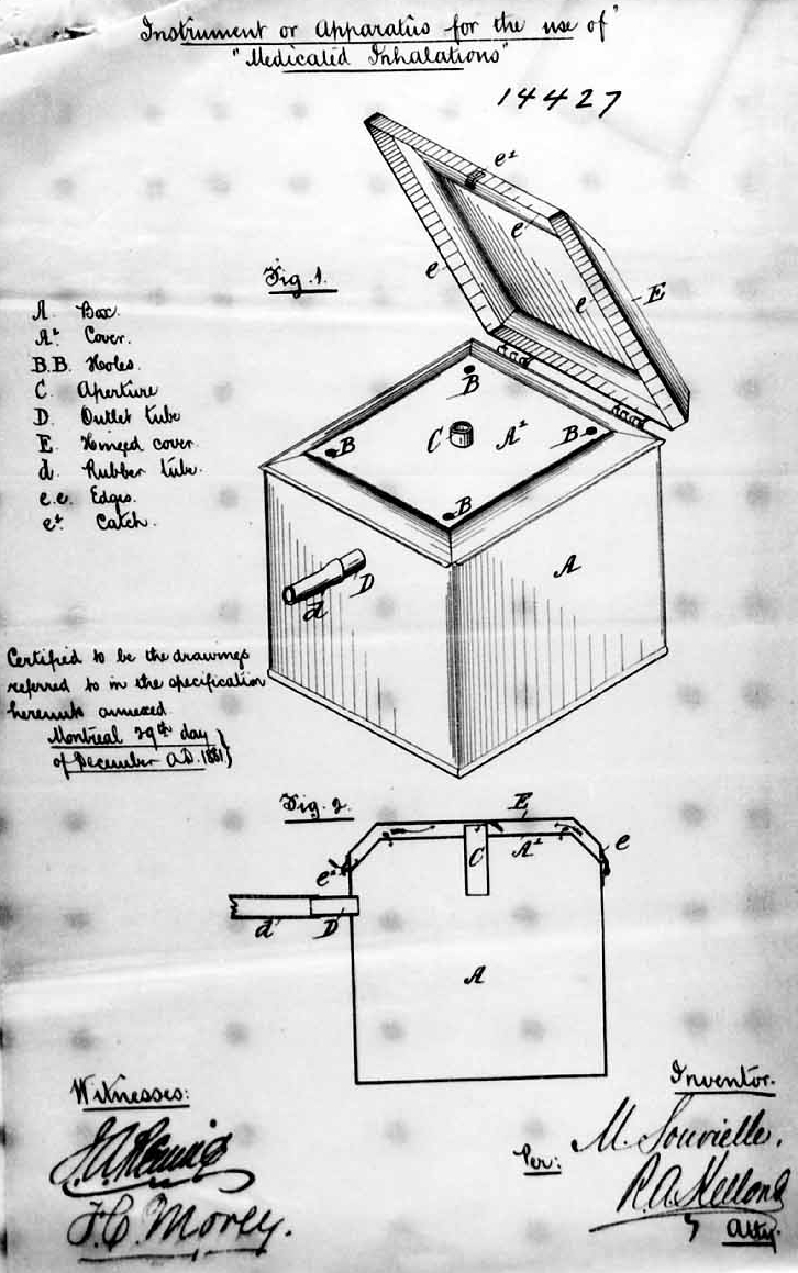 Mathieu_Souvielle_Spirometer_Patent_Drawing