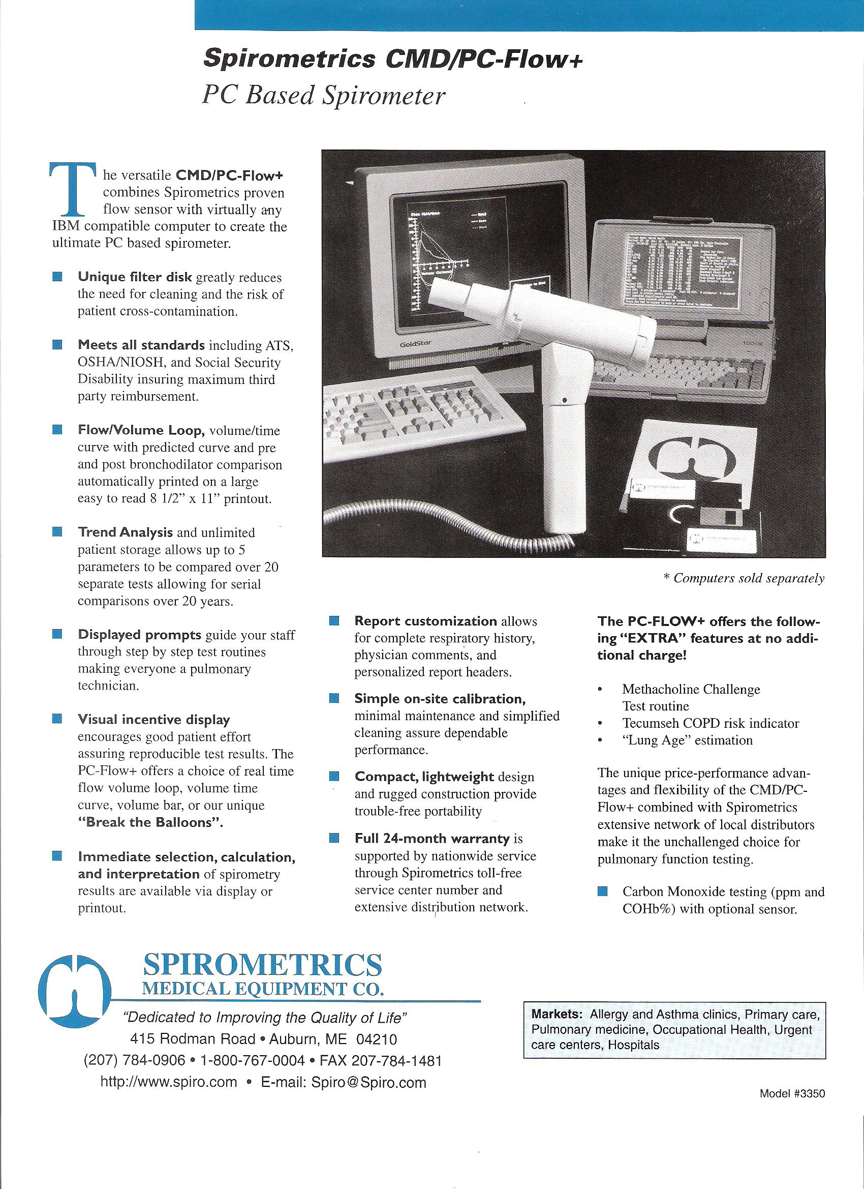 Spirometer_Spirometrics_CMD_PC_Flow+_Brochure_page_1
