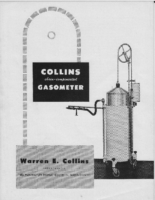 Collins Chain Compensated Gasometer Brochure 1948
