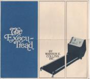 Collins Execu_Tread Treadmill Brochure circa 1970 n2