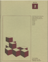Collins Instruction Manual for Steady State Diffusion Capacity Modules 03015 03017 03019 03021 – 1976