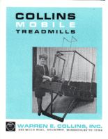 Collins Mobile Treadmills Brochure – circa 1965