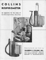 Collins Respirometer Brochure – 1952